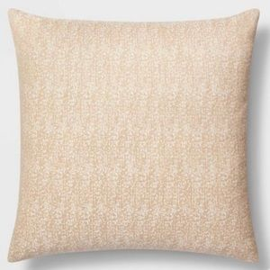 Oversized Square Woven Pillow  - Project 62